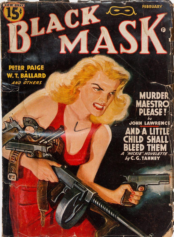 Black Mask February 1942